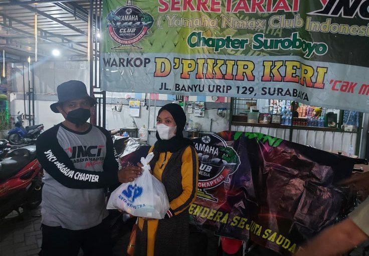 YAMAHA JATIM Bersinergi Dengan YNCI, Peduli Masyarakat Surabaya
